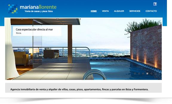Diseño web Mariana Llorente